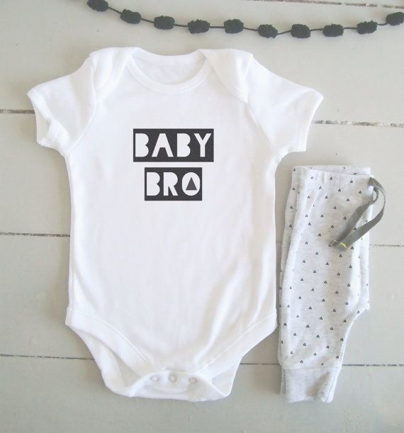 Baby Bro Bodysuit  Little Brother Onesie ETSY £11.50