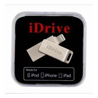ราคาถูก  iDrive Metal U Flash Disk USB Memory Stick Drive for iPhone iPadแฟรชไดร์สำรองข้อมูลสำหรับไอโฟน ไอแพด  ราคาเพียง  1,250 บาท  เท่านั้น คุณสมบัติ มีดังนี้ Fast Speed USBLightningSupport:Windows, MacOS iOS 7-9Waterproof UdiskColor:Silver
