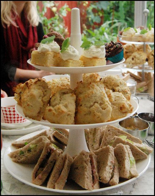 Afternoon tea! Summer tradition with my friends!My Friend, Afternoon Tea