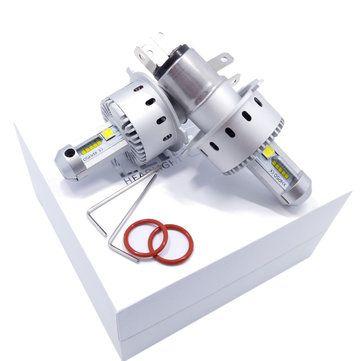 Autoleader 7S Integrated Car LED Headlight XHP-50 40W 6500K 8000LM IP67 H4 H7 H11 9005 9006 LED Bulb for Auto Sale - Banggood.com
