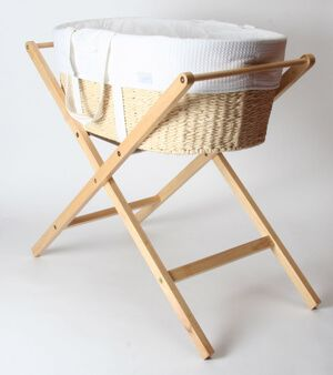 Born With Style Moses Basket with Stand