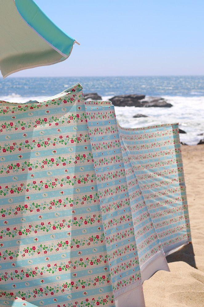 Sew a windbreaker for windy beach days!