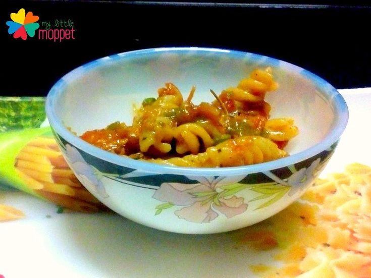 Veg Pasta Recipe for kids 1