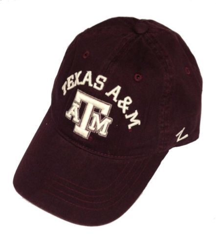 Zephyr-Texas-A-M-Aggies-Centerpiece-Relaxed-Adjustable-Hat-Maroon-Size-OSFM-NWT