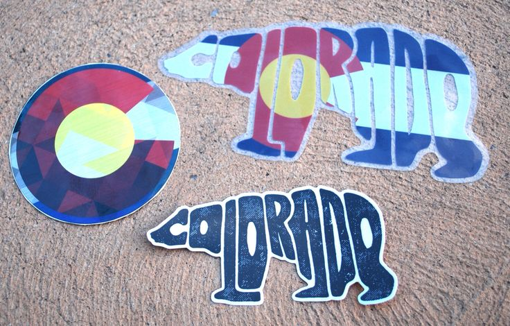Colorado Stickers!!! Message me if you want some. $2 for the black bear $3 for the Colorado circle $4 for the Colorado beat These stickers are perfect to on your car or water bottle.