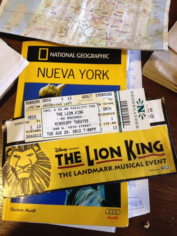 The Lion King! (NYC)