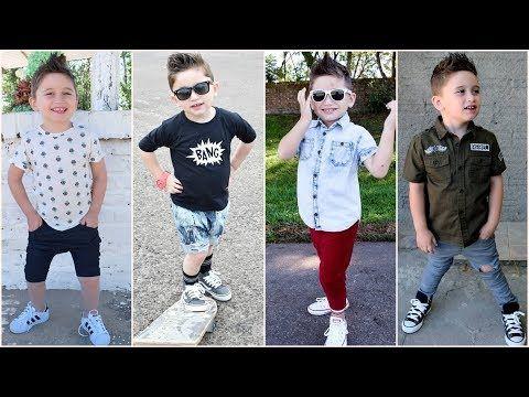8bb1f99637ad3 اطقم لبس اولادي شيك جدا للمدراس والخروجات 2018 - YouTube