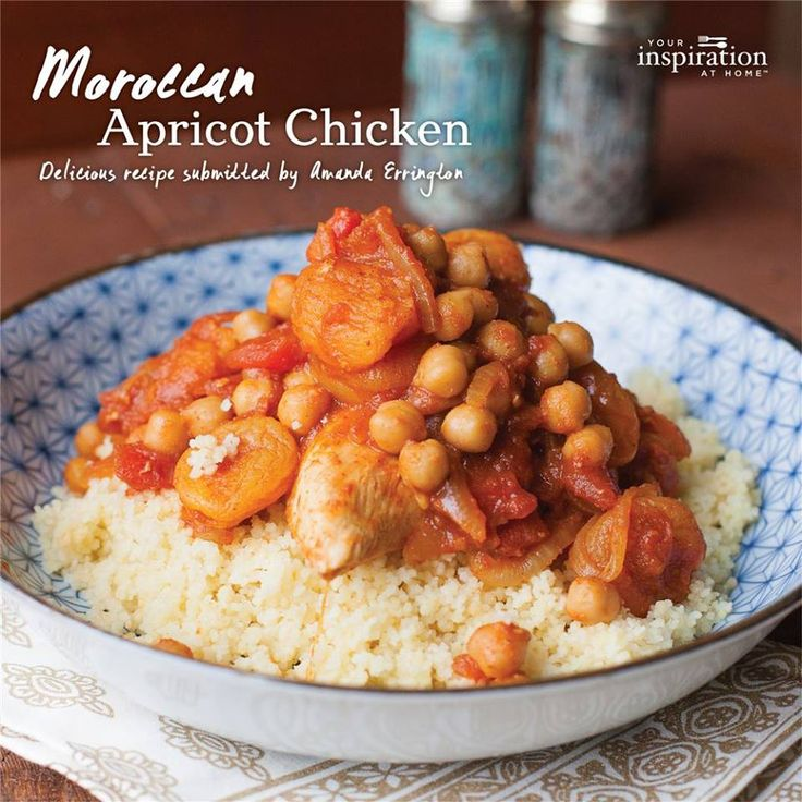 Moroccan Apricot Chicken  recipe here https://www.facebook.com/kylielayt.yourinspirationathome/