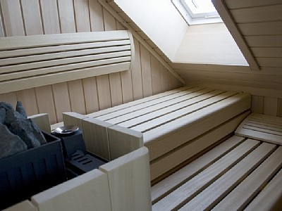 Penthouse sauna. To bad my appartment is to small for this.