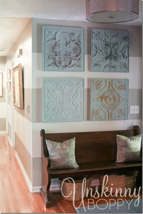 You have GOT to see the rest of this gorgeous home! So many details that make it a beautiful home. #Wall #Art #Ideas