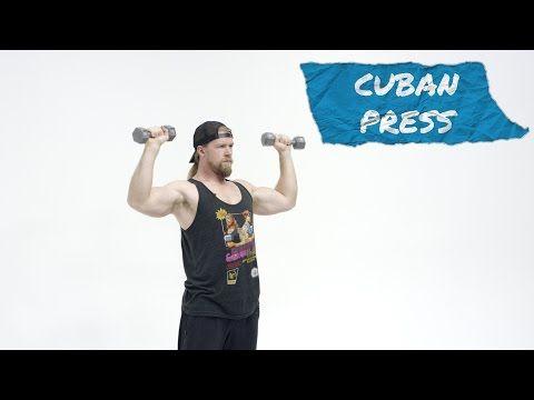 How To Perform the Cuban Press - Exercise Tutorial - #BuffDudesFitnessVideo http://youtu.be/e7gGRU0o-Q8