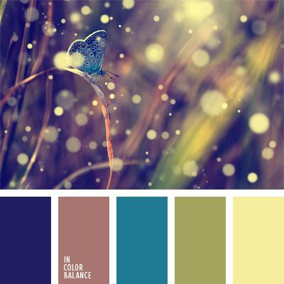 The color palette number 247 pale yellow, greenish-yellow color palettes for a designer, blue-purple, the color of cocoa, the color of grass, decor color