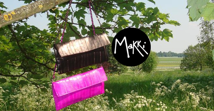 Makki - British & Italian designed Eel Skin Accessories - Clutches, Purses & Handbags