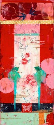 Lovebird Series 2 Kunstdrucke von Kathe Fraga bei AllPosters.de