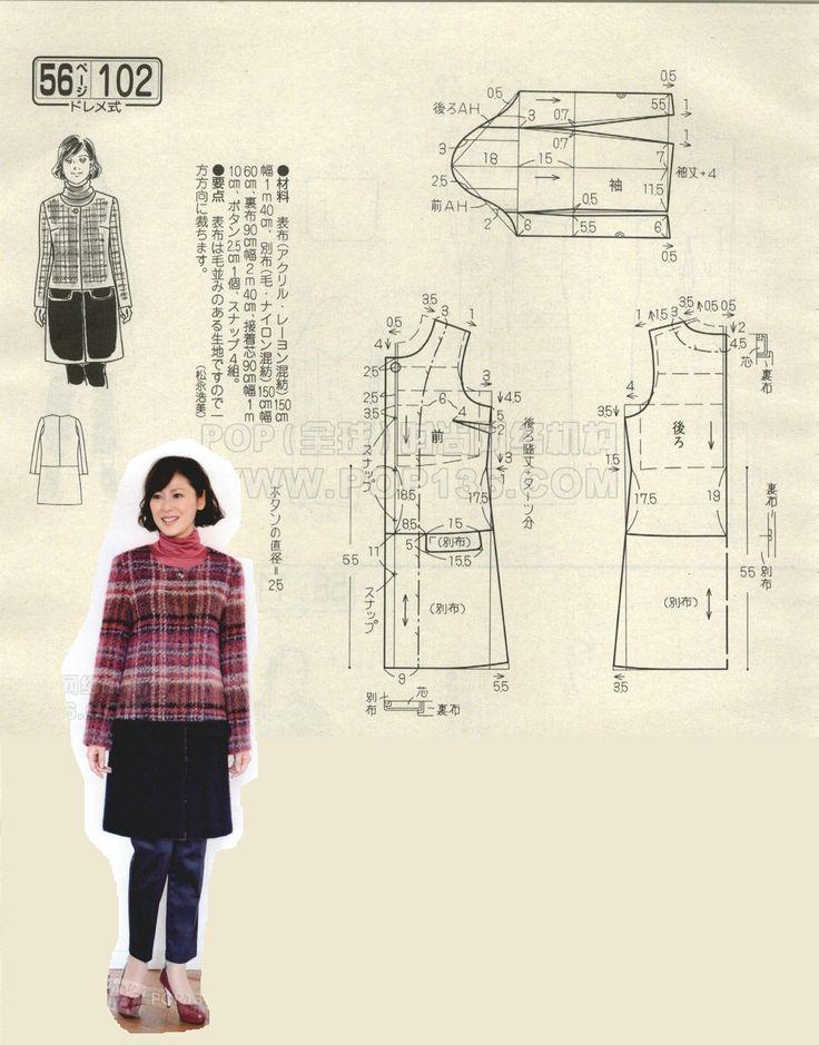 Jacket, patterns instructions