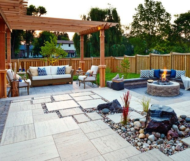 164 best hardscape images on pinterest | garden ideas, gardens and ... - Backyard And Patio Designs