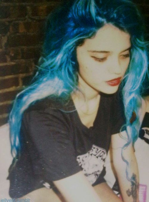 sky ferreira tumblr | Sky Ferreira Tumblr Celebrity Inspired Style Hair And Beauty