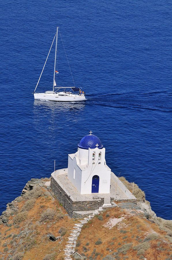 Chapel in Sifnos Island, Greece