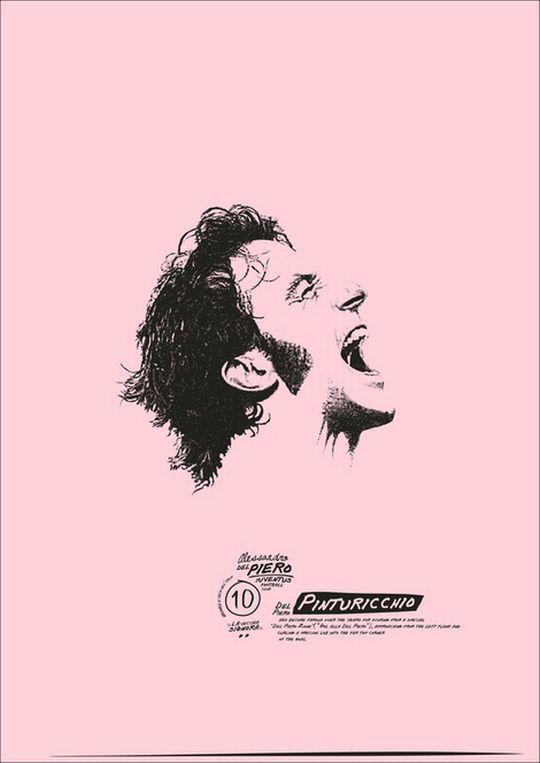 Ποδοσφαιρικοί θρύλοι σε vintage posters - Στο ράφι - ΔΙΑΣΚΕΔΑΣΗ | oneman.gr