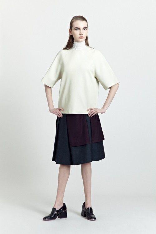 Siloa & Mook AW13: Rafi Top, Geala Skirt.  #siloamook #fashionflashfinland #fashion #fashiondesigner #designer #aw13 #collection #Finland #Helsinki