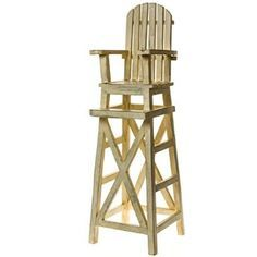 Wooden Lifeguard Chair Plans   WoodWorking Projects U0026 Plans