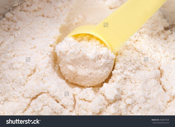 Close Up Of Powdered Milk And Spoon For Baby On White Background With Clipping Path Stock Photo 456057928 : Shutterstock