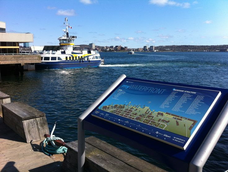 Take our harbour ferry from Halifax to Dartmouth for fresh air, ocean breeze and great views! #Halifax #Dartmouth