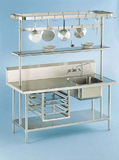 Hygienic and hardy. You won't do better than stainless steel! #SASSDA.