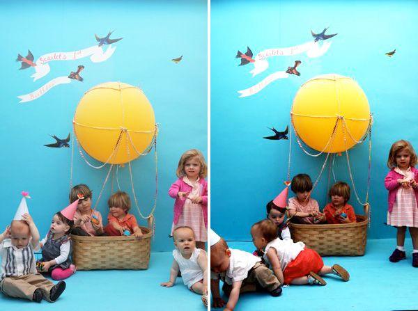 Hot air balloon photobooth!