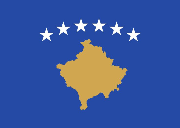 Flag of Kosovo - Gallery of sovereign state flags - Wikipedia, the free encyclopedia