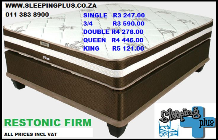Rotating mattress, bonnel spring, wool fibre, side support, marvelous middle and base set is SABS approved.