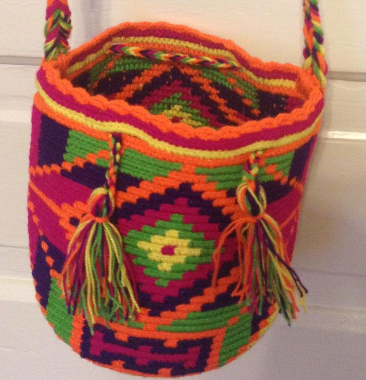 A personal favorite from my Etsy shop https://www.etsy.com/listing/210956006/small-wayuu-bag-mochila-hand-woven-5s