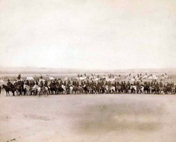 Captain Taylor with 70 Indian Scouts in the old west: History, American Indians, 70 Indian, Native Americans, Pine Ridge, Captain Taylor, Lakota Scouts, Indian Scouts, Taylors