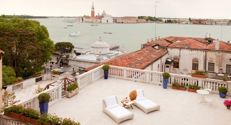 Luna Hotel Baglioni, Venice, Italy. (Oldest hotel in Venice -- 12th century!)
