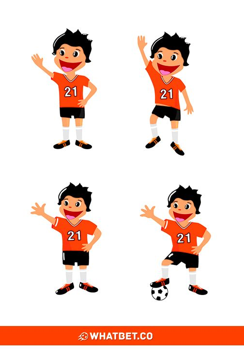 Whatbet.com #desing #mascot #football #drawing #zlapmnie