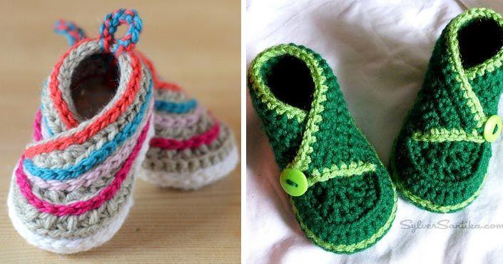 Roztomilé nápady a návod na originálne kimono topánočky pre deti. Pohodlné a vyrobené s láskou! Háčkované a pletené kimono papučky pre deti, postup