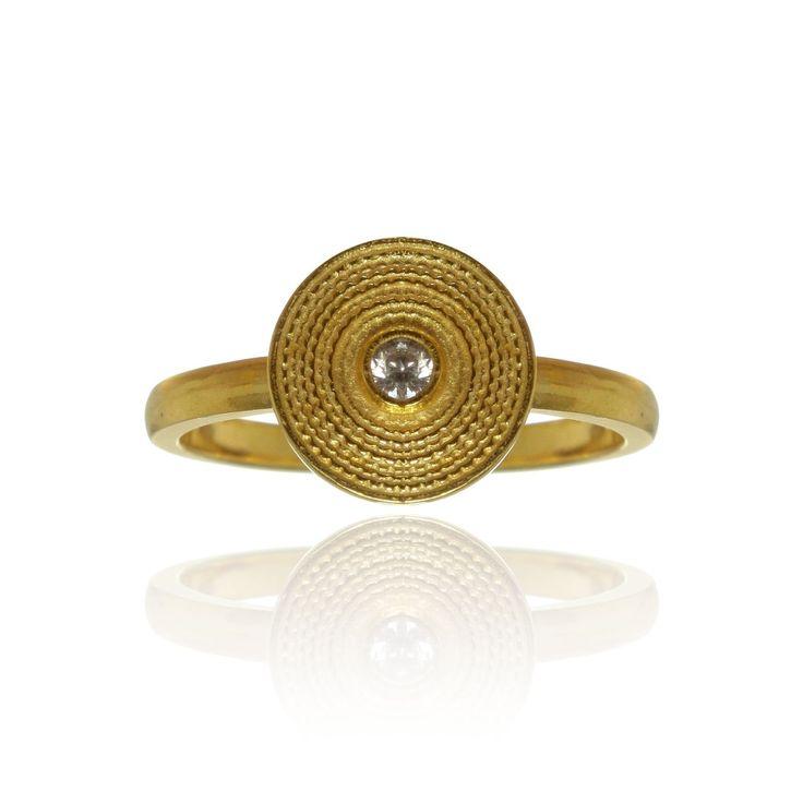 Filigree Circles Ring - Marta Samborska