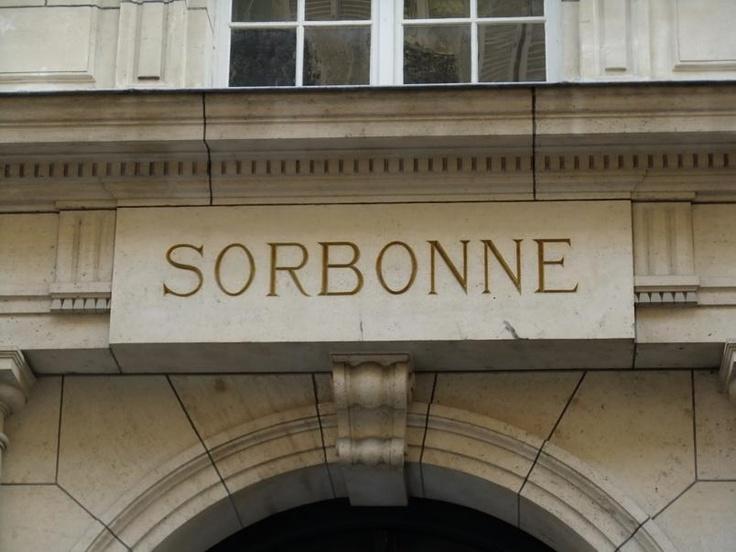 At the Sorbonne University, Paris, France