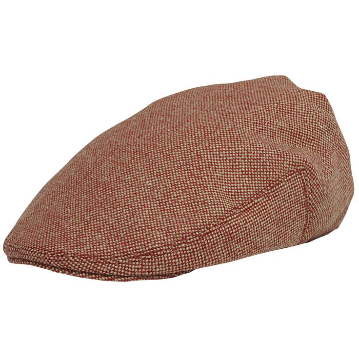 Model Flat cap with Red Beige