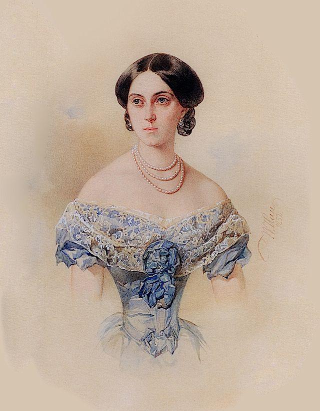 Vladimir Hau - Varvara Buturlina, 1852