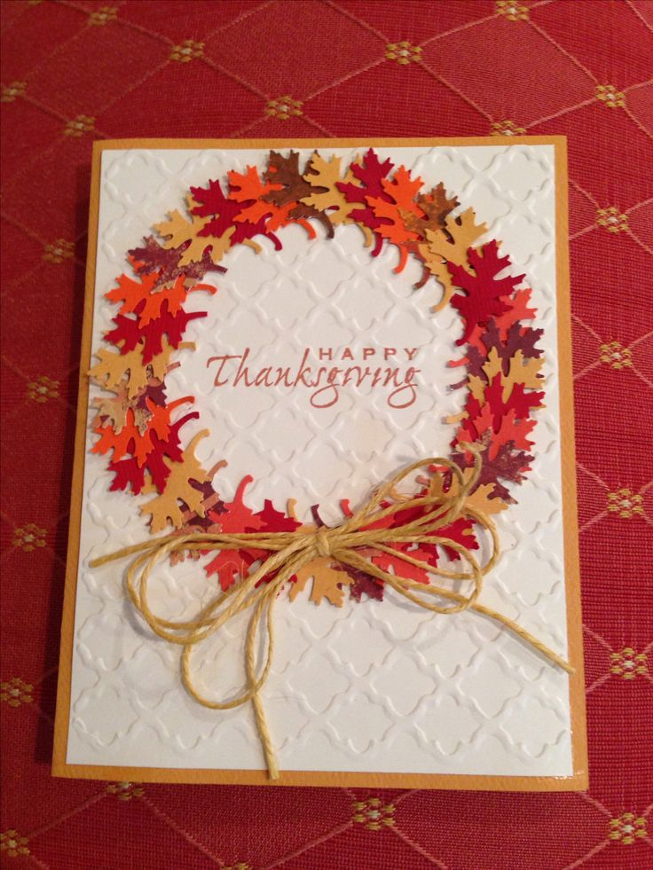 Card Making Ideas Thanksgiving Part - 25: Thanksgiving Cards