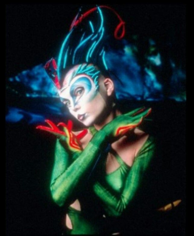 dream job would be make up for Cirque de soleil