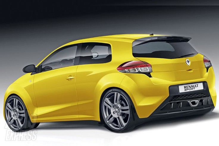 Concept of the RenaultSport Clio released in 2013