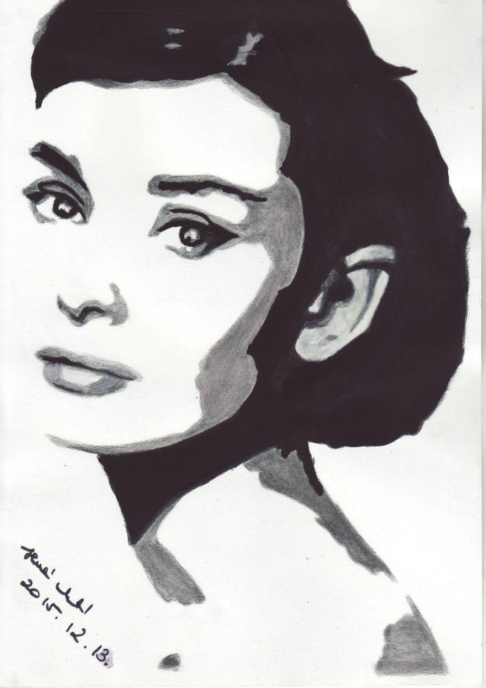 M s de 25 ideas incre bles sobre pintura de audrey hepburn for Audrey hepburn mural los angeles