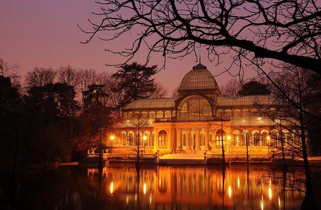 Madrid's most famous park, the Parque del Buen Retiro.