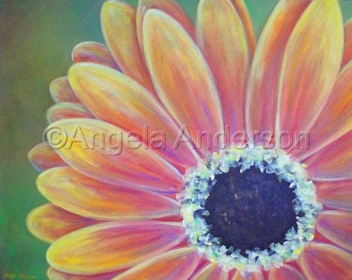 199 best art tutorials inspireert bij angela anderson for Painting flowers in acrylic step by step