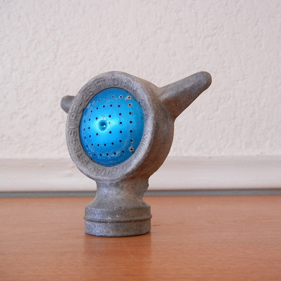 Vintage Sprinkler Industrial Garden Hose by nellsvintagehouse, $14.00