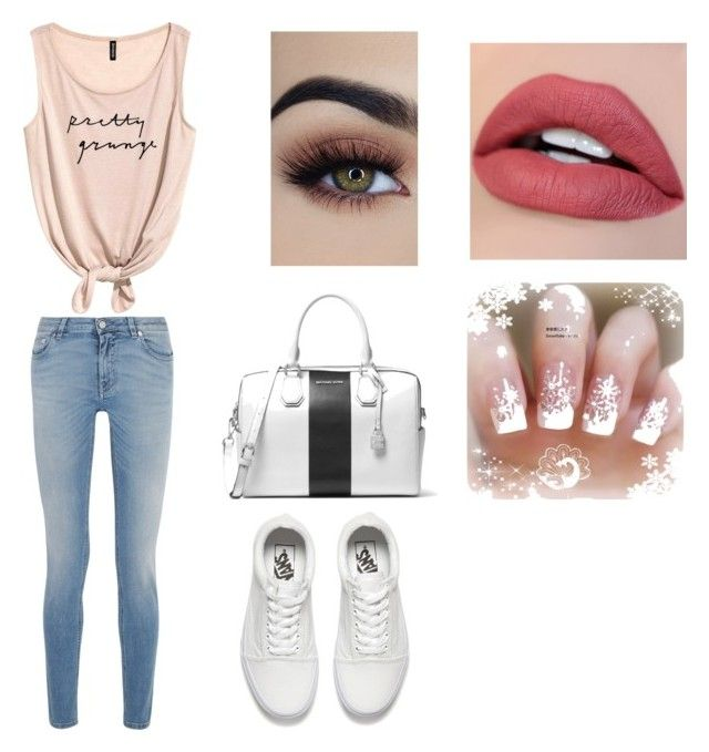 """""""Untitled #6"""" by julle2003 on Polyvore featuring Givenchy, MICHAEL Michael Kors and Vans"""