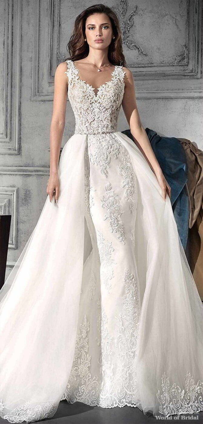399 best Fit & Flare Wedding Dresses images on Pinterest | Short ...