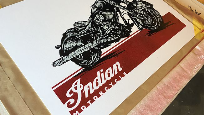 Indian Motorcycle Is Competing With Harley-Davidson by Giving Away Art | Adweek